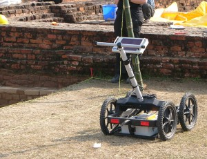 GPR over brick wall